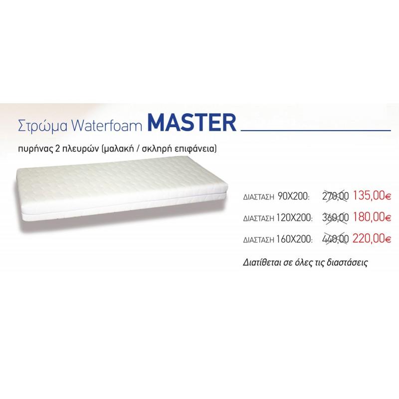 Στρώμα Ύπνου Eco Sleep Water Foam Master (Single)