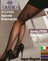 Καλσόν Καλσόν Πολυτελείας για ξεχωριστές Elegance εμφανίσεις . 30 Den διάφανο με διπλή επικάλυψη Lycra