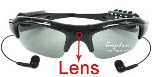 Κάμερα Καταγραφικό Γυαλιά Ηλίου DVR MP3 Player Easy 2 Button Control 2GB Sun Glasses Camera with MP3 Player Function Drop :: www.antoniou24.gr