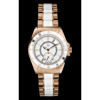 Προσφορές :: Γυναικεία :: Gc :: Guess Collection Rose Gold and White Ceramic I47003L1 -