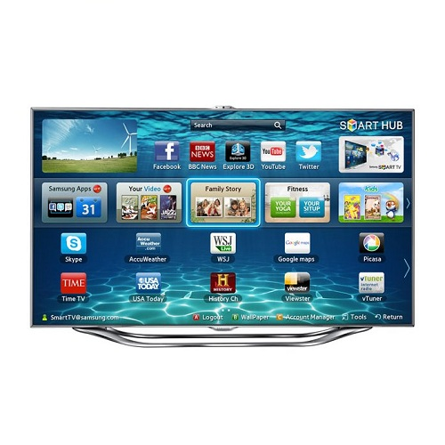SAMSUNG UE40ES8000s LED 3D TV 40