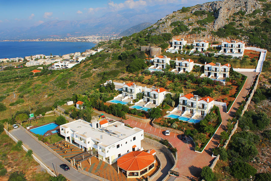 Golden Villas - Hersonissos Crete, Villas with Private Pool - Crete Golf Club - Paragliding - Nightlife